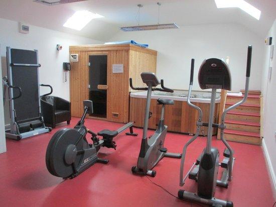 The Gwbert Hotel: Sauna,Jacuzzi and Gym .