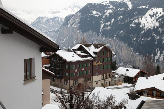 Hotel Edelweiss: hotel view