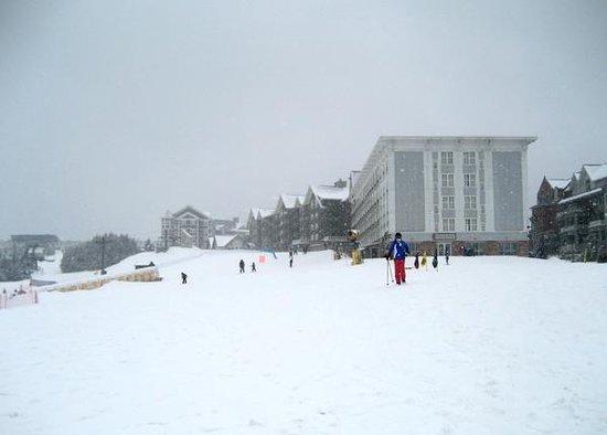 Snowshoe Mountain Resort: Slopeside condos