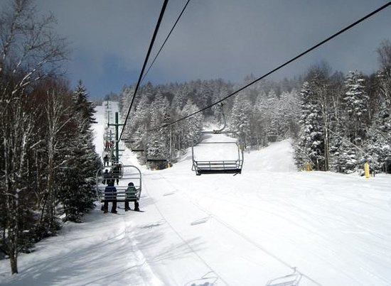 Snowshoe Mountain Resort : Day after a fresh snowfall