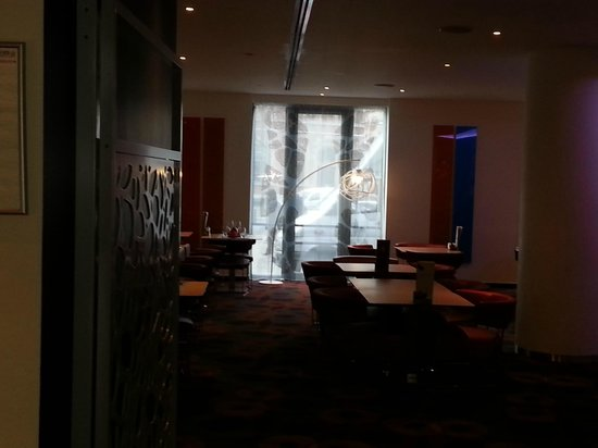 Novotel Brussels City Centre : otel lobi