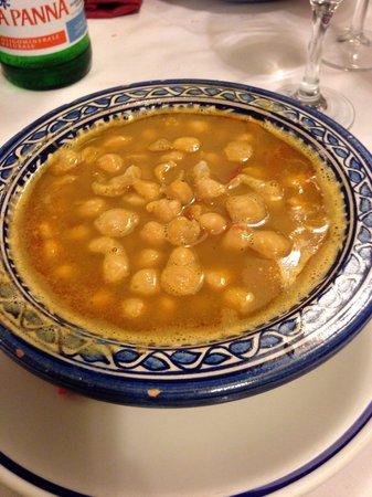 Il Grillo Brillo: Zuppa di ceci (crudi purtroppo).