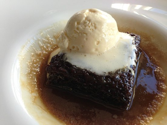 The Poet: Worlds best Sticky Toffee Pudding with tonka bean icecream