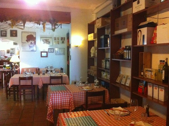 Restaurante Mangiafuoco: Estilo trattoria italiana