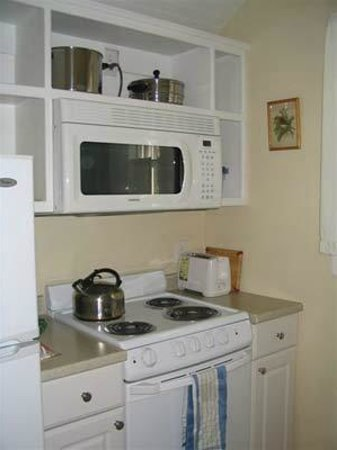 Harbor House Country Cottages: Fully equipped kitchens