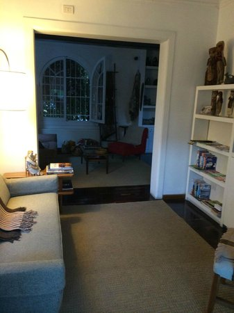 Meridiano Sur, Petit Hotel: Sala de estar