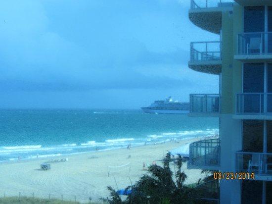 B Ocean Resort Fort Lauderdale: What a view