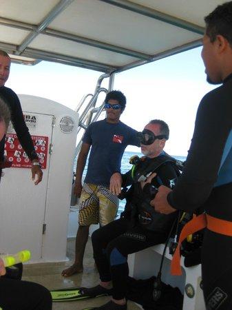 BA Divers: Last Minute instruction for Dive #2