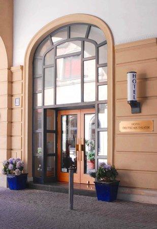 Hotel Deutsches Theater Stadtmitte: hotel eingang