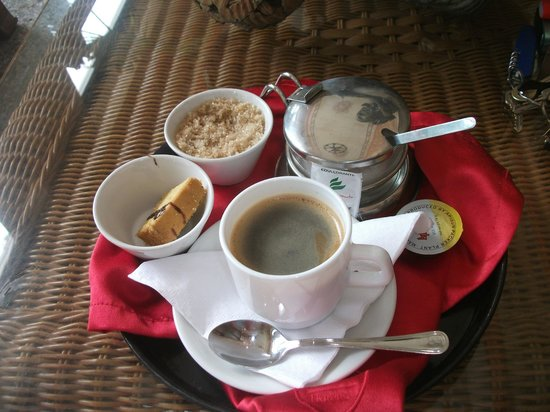 Hotel E Velasco: coffee