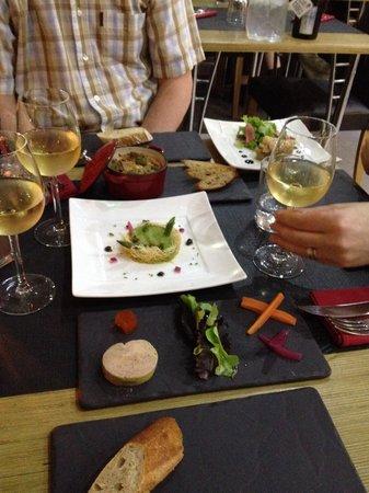 HANgoût Restaurant : A tasting of starters