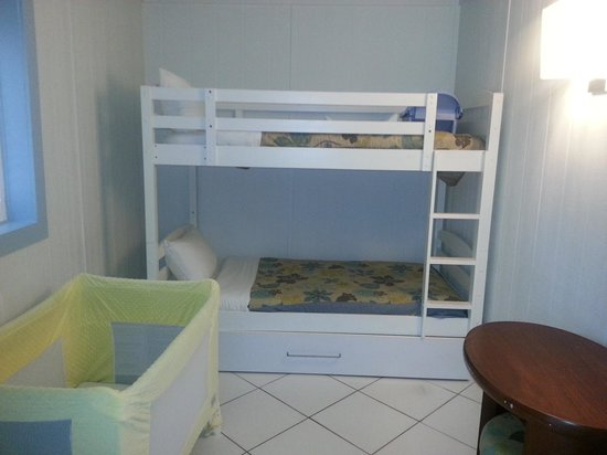 Club Med Sandpiper Bay: Perfect room for our 18 month old!