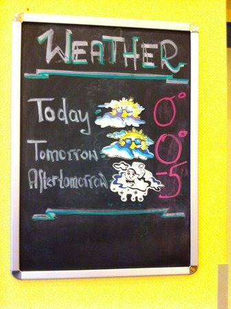 A&O Wien Stadthalle: Weather update everyday