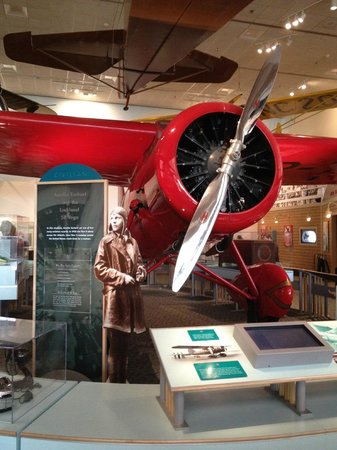 National Air and Space Museum: amelia earhart plane