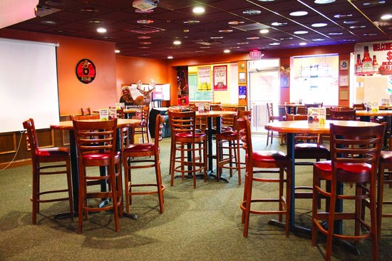 High top seating - Picture of Z103 Bar and Grill, Fergus ...