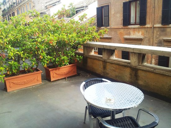 Hotel King, Rome: Terrazzino camera