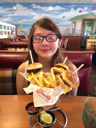 Friendly's: She loved this place.