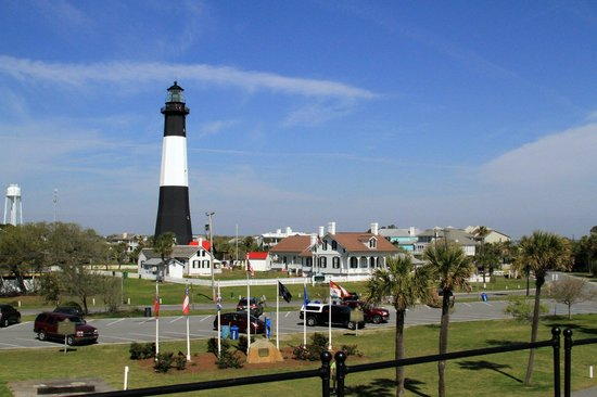 Tybee Island Lighthouse Museum: Nice and out of the way