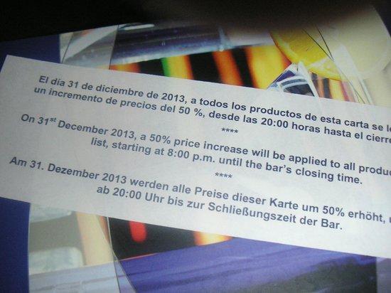 IFA Dunamar Hotel: Preiserhöhung um 50 %