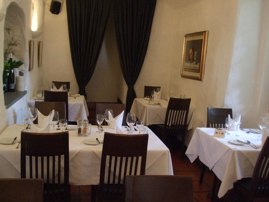 Ristorante Pinocchio: Rear dining section
