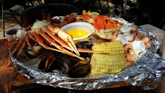 The Crab Shack: Captain Crabs Sampler for 2 could feed 3