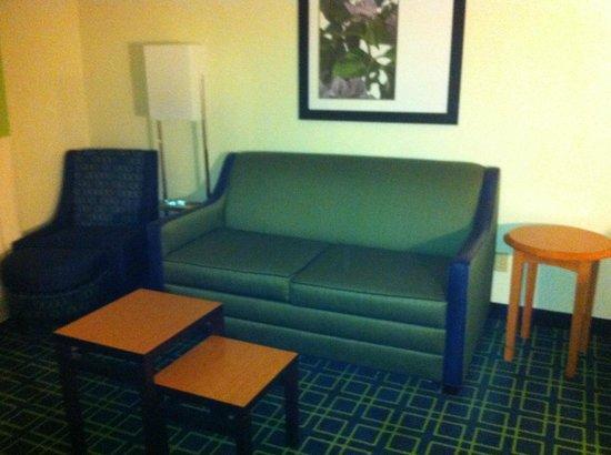 Fairfield Inn & Suites Dallas DFW Airport North/Irving: Sala