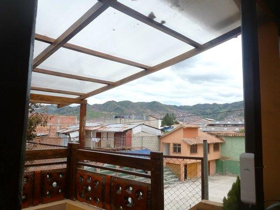 Hospedaje Turistico Recoleta: A view from the balcony