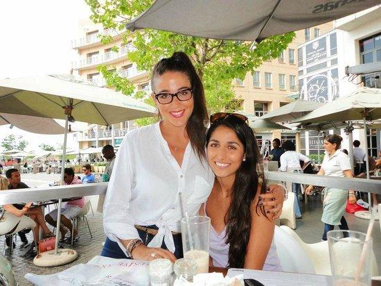 Tashas: Tanya and I at Tasha's