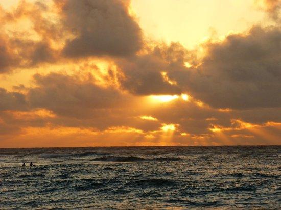 Oahu Photography Tours : Sunrise at Sandys.