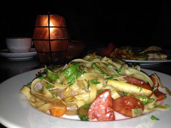 El Albergue Restaurant: Fetuccini