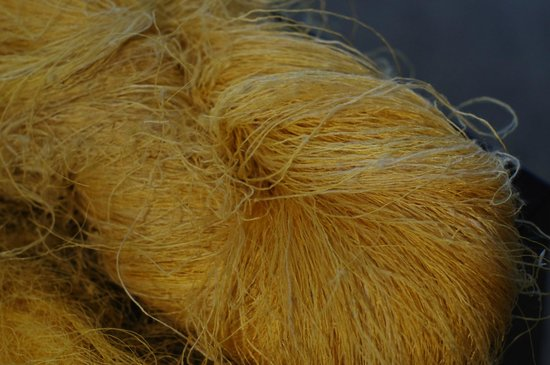 Margaret River Silk Road: Raw Unwashed Silk Yarn