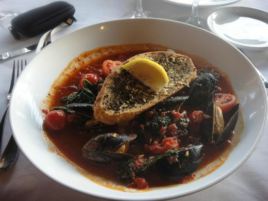 ZoZo's at the Sugar Mill: PEI Mussels