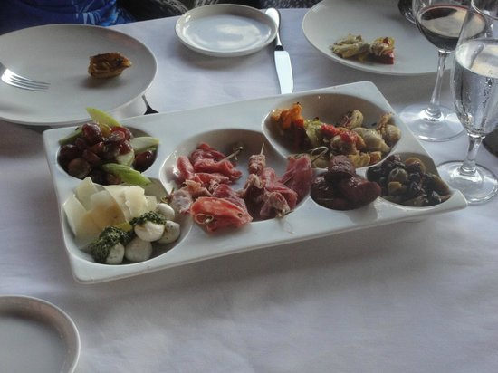 ZoZo's at the Sugar Mill: Antipasto for Two