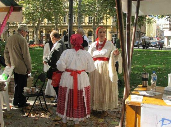 Zrinjevac: part of festival