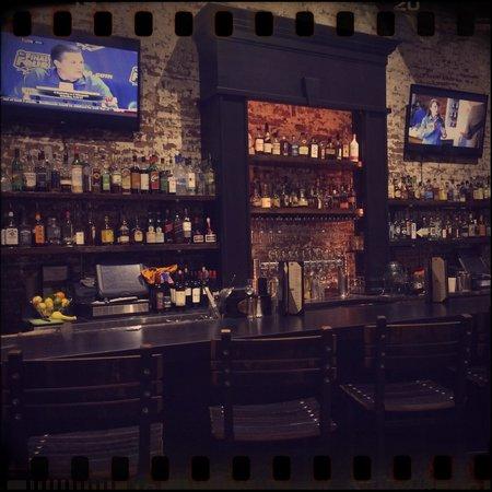 The Exchange Pub + Kitchen: The bar.