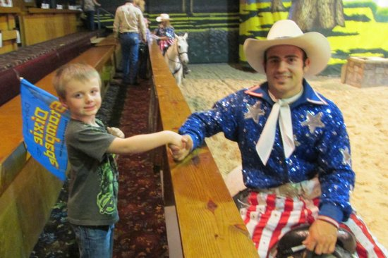 Dixie Stampede Dinner & Show: Meet the show peoople