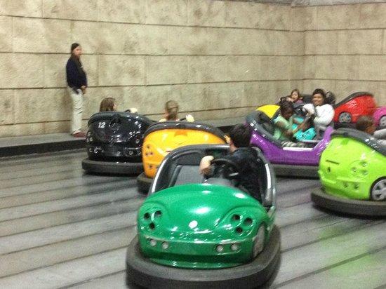 Mt. Olympus Resort : bumper cars