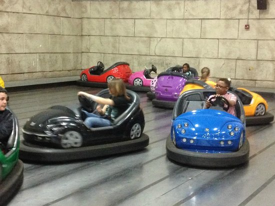 Mt. Olympus Resort: bumper cars