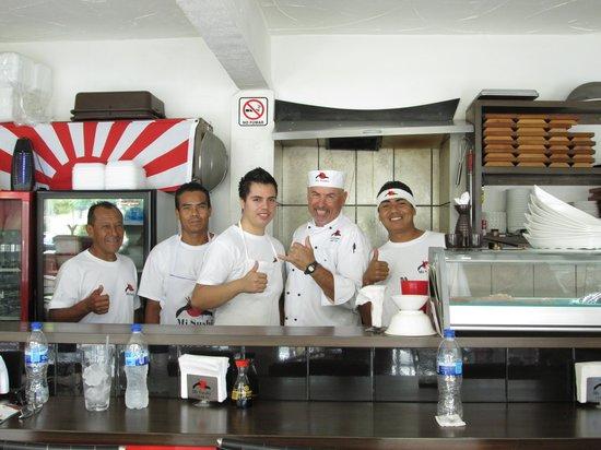 Mi Sushi : Cliff & staff