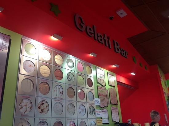 Shakes Gelati bar: the seletion