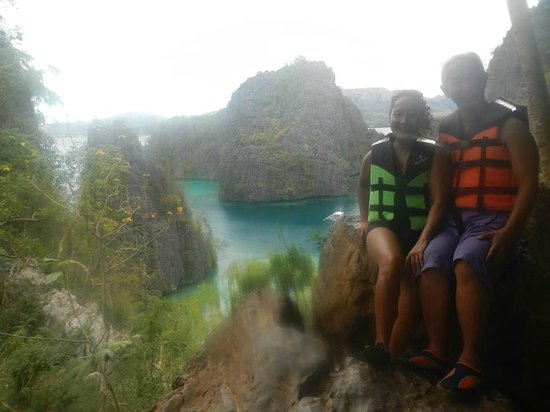 Kayangan Lake : WE'RE HERE !