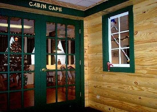 "Country River Inn : The ""Cabin Cafe"" - our dining room"