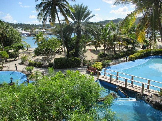 Hotel on the Cay: View from Balcony