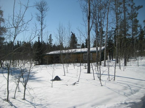Sundog Retreat: Our cabin at Sundog