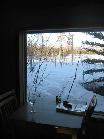 Sundog Retreat: One of the views from the cabin