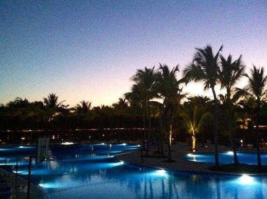 Barcelo Maya Beach : Piscine all'alba....