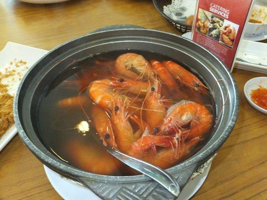 Jumbo Seafood : Fresh Prawns