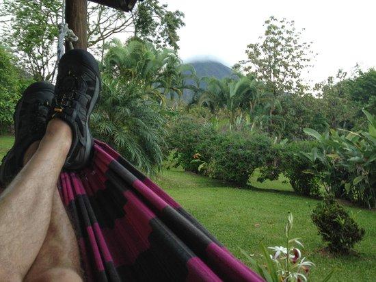 Hotel Brisas Arenal: hammock view