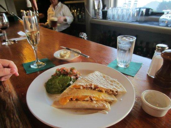 Little River Inn Dining Room : Chicken Quesadillas