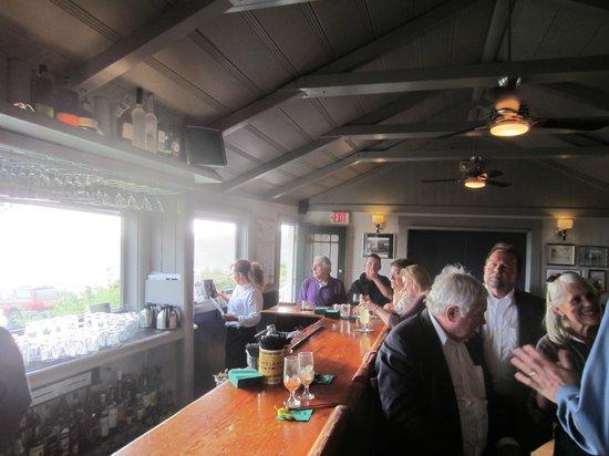 Little River Inn Dining Room : Active bar scene